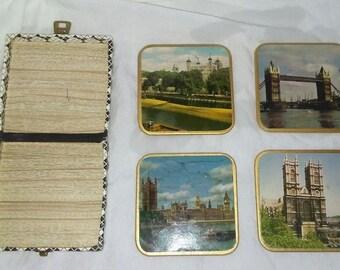 Win El Ware Coasters and Box Set of 4