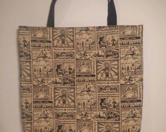 The Legend of Zelda: A link Between Worlds Tote Bag