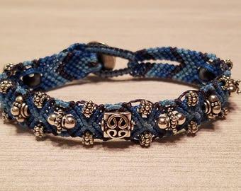 Macrame Beaded Bracelet