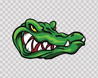 Decal Stickers Gator Alligator Atv Weatherproof Racing sports 13005