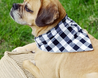 Easy Dog Bandana Sewing Tutorial - Instant Download Printable Pattern - Pet Accessories For Dogs and Cats