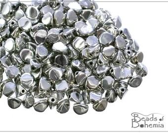 50 pcs Labrador Full Czech Glass Pinch Beads 5x3,5 mm (8645)