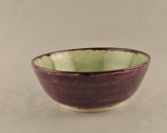 Two Tone Stoneware Bowl