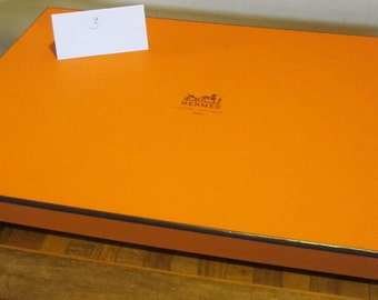 Hermes Paris Gift Box ,17,1 x 12 inch; 1,02 inch high box 3