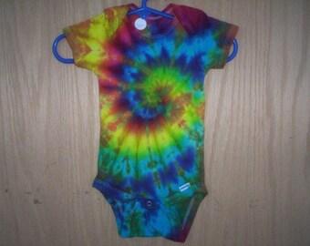 Beautiful Baby Tie Dye One Piece Choose Size