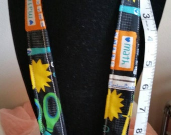 I Love Math Lanyard