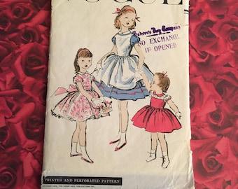 50's Vintage Girls Vogue Sewing Pattern