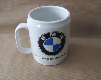 Vintage BMW Mug, 1980's BMW Mug, Beer Stein, Ceramic Mug, Gift for Him, Man Cave Decor, Car, BMW Collector, Lover
