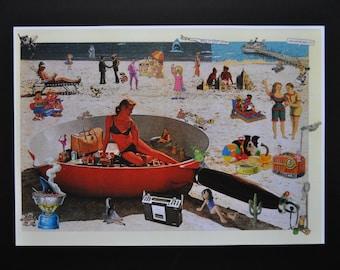 poster pop art, poster, poster pop art, poster, poster, cartoon, comic, old advertising, the beach.