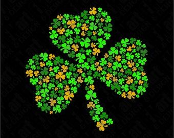 SVG Shamrock St Patricks Day