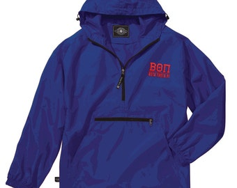 Beta Theta Pi Pack-N-Go Pullover (red embroidery)