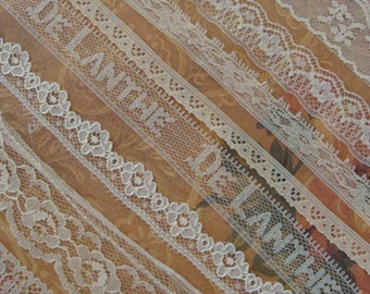 Vintage and Antique Lace Lot N024 9 Yards