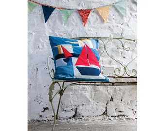 Cornish Wave Cushion Quilt Pattern Download 803263