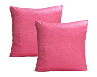 Light Pink Pillow Cover, Set of 2 Pillow Covers