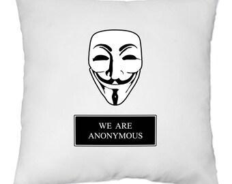 Cover cushion 40 x 40 cm - We are Anonymous - Yonacrea