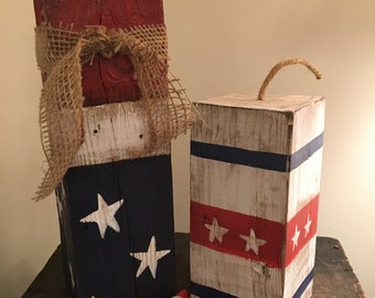 Rustic Wooden Fireworks
