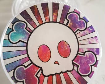 Skull & Crossbone 3 Part Crusher/Grinder
