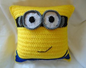 Minion Inspired Throw Pillow