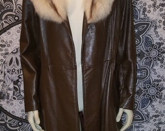 BETTY LEE Vintage 60s Coat, Size 14