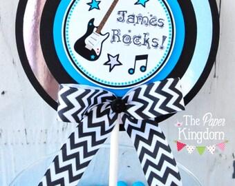 Rock Star Cake Topper, Smash Cake Topper, Rock Star Baby Shower, Rock Star Birthday Party