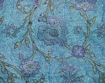 Seamist Boston Vine Jacquard Woven Floral Upholstery Fabric