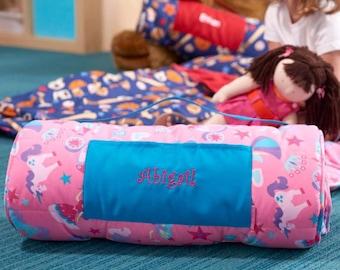 Personalized Toddler & Preschool Nap Mats - Princess and Unicorn