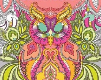 Tula Pink Coloring Book - Fons & Porter - S0746