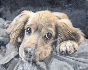 Custom pet portrait, 100% hand painted, not digital, dog painting,memorial art, gift art, custom pet artwork, pet painting, pet illustration