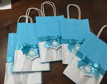 Frozen tutu Party Favor Bags, Favor Bags, Tutu Favor Bags, Frozen Decorations, Frozen Party