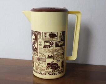 Vintage Plastic Montgomery Ward Pitcher