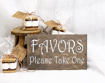 Favors Please Take One Sign, Wedding Signs, Favors Sign, Favors, Baby Shower, Bridal Shower, Reception Sign, Wedding Sign, Party Sign