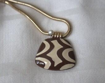 Diane von Furstenberg Enamel Necklace
