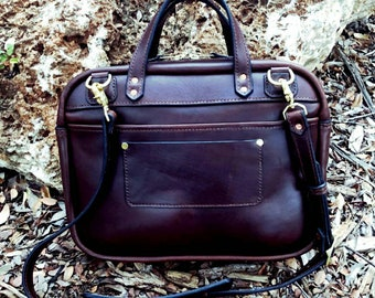 Leather Briefcase| Zipper Briefcase| Leather Bag| Business Leather Briefcase | Laptop Bag|For him