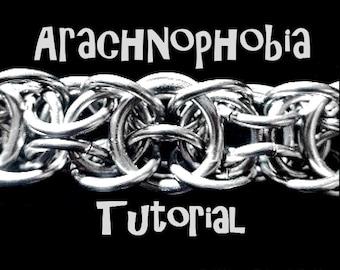 Tutorial for Arachnophobia weave by Brilliant Twisted Skulls