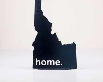 Idaho Home State Steel Sign - Metal State Decor
