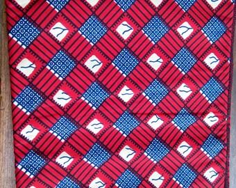 """6-072 - WAX """"SOUCLE KPE"""" from Benin"""