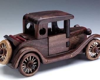Model A Rumbleseat handmade wooden toys