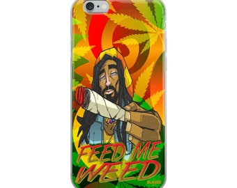 Feed Me Weed iPhone Case