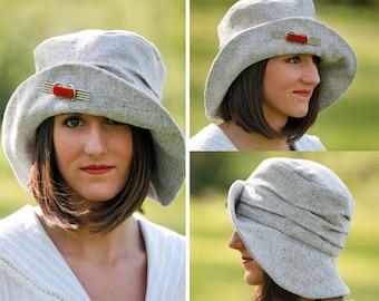 Folkwear Metropolitan Hat - Retro WWI 1910s Easy Sewing Pattern # 269