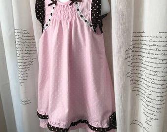 Copper Key Girls dress, 6X