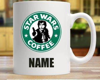 Star Wars Personalised Han Solo Coffee Mug