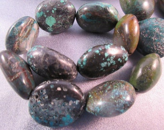 Turquoise Nuggets Beads 14pcs