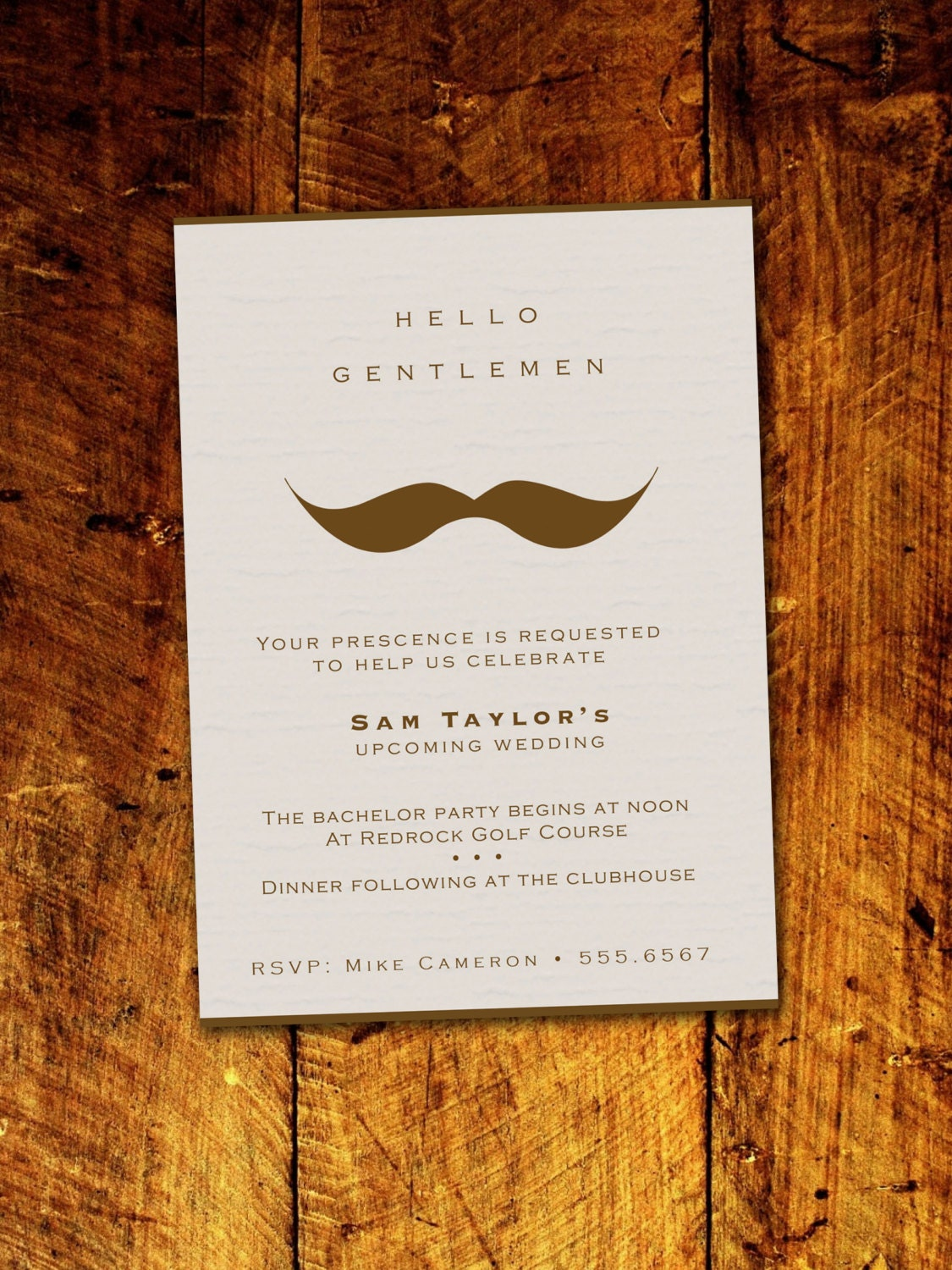 Gentlemans moustache bachelor party invitations digital zoom monicamarmolfo Choice Image