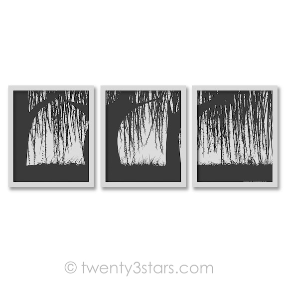 Weeping Willow Posters, Willow Trees Triptych Art, Tree Wall Art, Weeping  Willow Art, Willow Canvas Art, Willow Tree Wall Art, Willow Prints