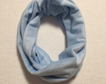 Scarf | Scarves | Womens Scarf | Womens Scarves | Blue Womens Scarf | Soft  Scarf | Soft Scarves | Circle Scarf | Cowl Scarf | Minky Scarf
