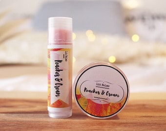 Peaches & Cream Lip Balm