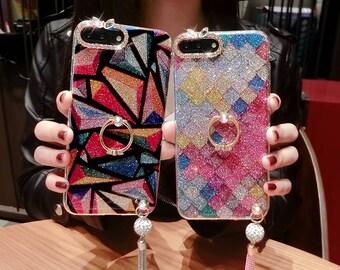 Starlight Glitter Geometrical iPhone