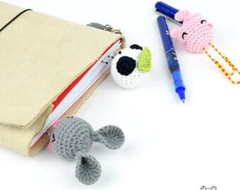 Clip kawaii, clip bonito, marcapáginas kawaii, papelería kawaii, marcadores de libros, papelería bonita, papelería friki, marcapáginas