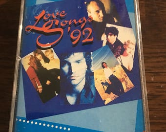 Love Songs 92 Cassette Tape