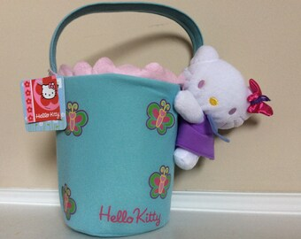 A Hello Kitty Very Cute! Butterfly Easter Basket, PTI Group.